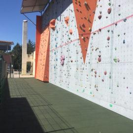 Climbing wall tiles